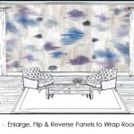 casart Abstract Watercolor 6x_Room Concept
