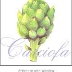 Casart Green Artichoke with wording 1x