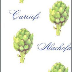 Casart Botanical - Green Artichoke Pattern 1x
