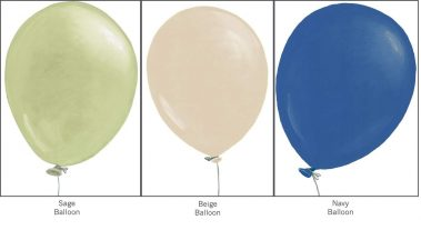 Casart T3 collection balloons