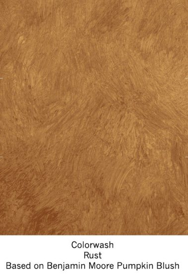 Casart Rust Colorwash_Wallfinish_12x