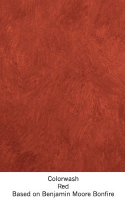 Casart Red Colorwash_Wallfinish_14x