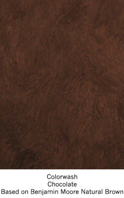 Casart Chocolate Colorwash_Wallfinish_15x