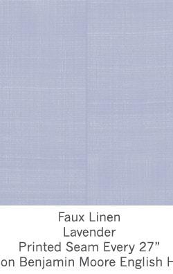 Casart coverings Lavender Faux Linen_Wallfinish_10x