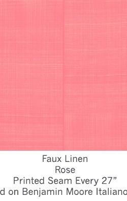 Casart coverings Rose Faux Linen_Wallfinish_14x