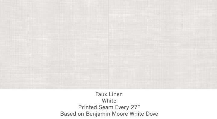 Casart covering White Faux Linen_Wallfinish_1x