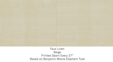 Casart coverings Beige Faux Linen_Wallfinish_2x