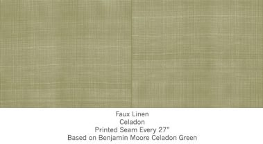 Casart coverings Celadon Faux Linen_Wallfinish_3x