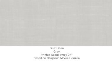 Casart coverings Gray Faux Linen_Wallfinish_5x