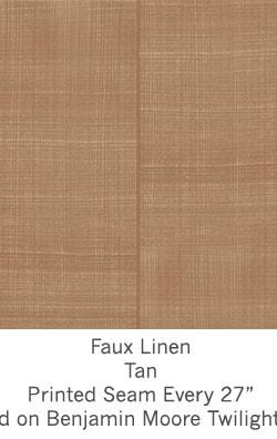 Casart coverings Tan Faux Linen_Wallfinish_8x