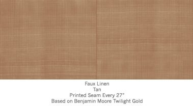Casart coverings Tan Faux Linen_Wallfinish_8x
