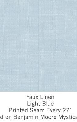 Casart coverings Light Blue Faux Linen_Wallfinish_9x