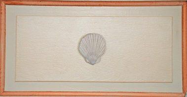 Casart Faux Plaster Scallop Trompe loeil Panel 3 Panel3