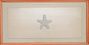 Casart Faux Plaster Starfish Panel 2