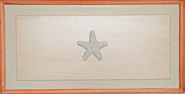 Casart Faux Plaster Trompe loeil Starfish Panel 2
