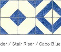 Casart Faux Tile Border Cabo - Cream_Architectural_ 2x