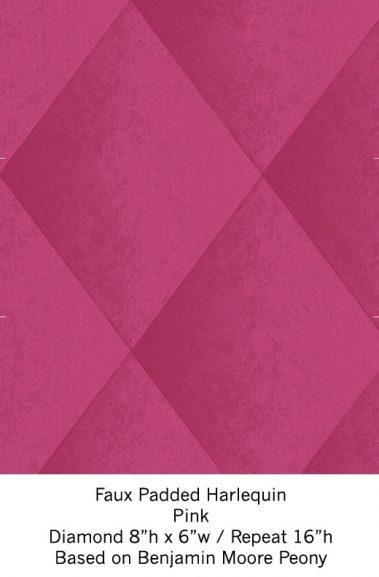 Casart Pink Harlequin_Wallfinish_12x