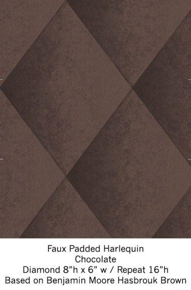 Casart Chocolate Harlequin_Wallfinish_15x