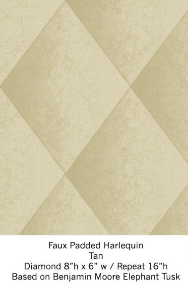 Casart Tan Harlequin_Wallfinish_4x