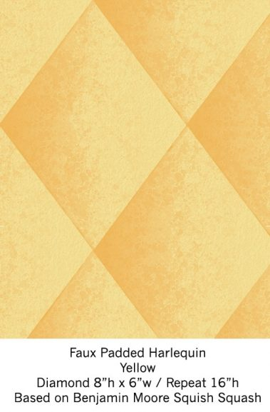 Casart Beeswax Yellow Harlequin_Wallfinish_6x