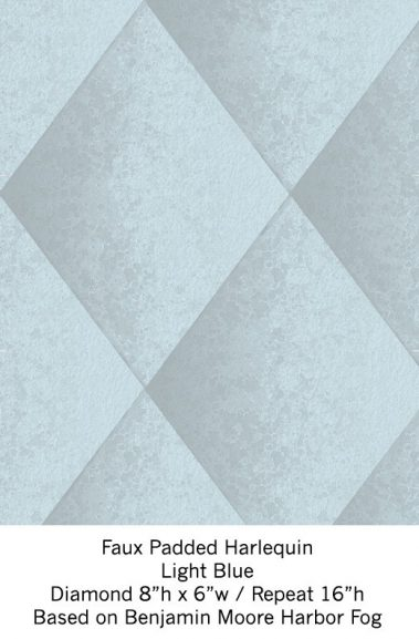 Casart Light Blue Harlequin_Wallfinish_9x