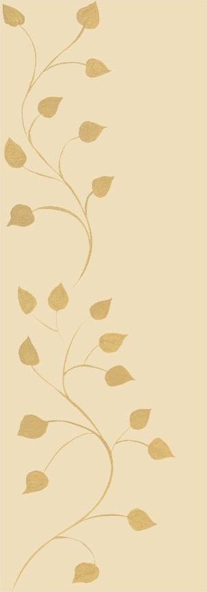 Casart Beige Tone on Tone Leaf Scroll - Botanicals 1