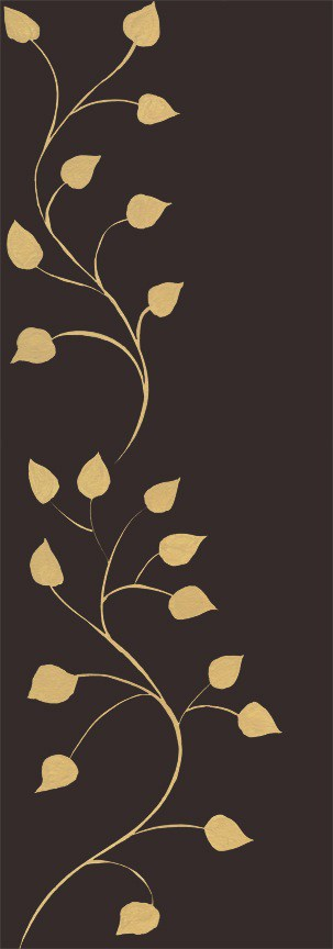 Casart Beige Chocolate Leaf Scroll 7