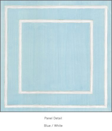 Casart Blue White Faux Panel_Architectural_2x