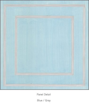 Casart Blue Gray Faux Panel_Architectural_4x