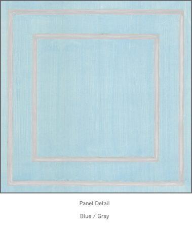 Casart Blue Gray Faux Panel_Architectural_4x