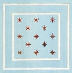 Casart Panel Star Blue/White_Architectural_Insert 2