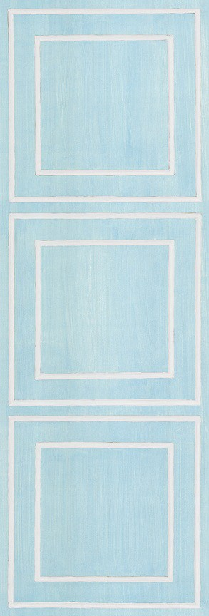 Casart Blue/White Faux Panel_Architectural_2