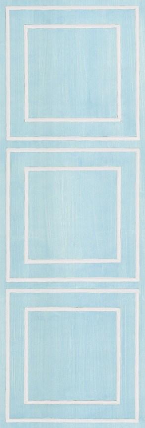 Casart Blue/White Faux Panel_Architectural_2