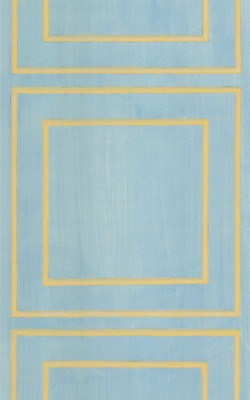 Casart Aged Blue/Muted Yellow Faux Panel_Architectural_6