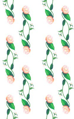 Casart Coral Peony Pattern 2