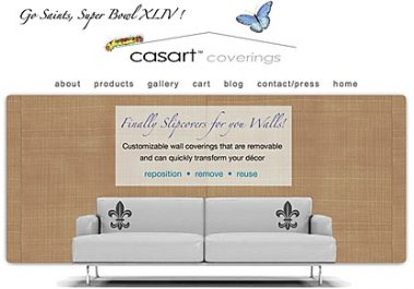 Casart Coverings Who Dat/ Superbowl Gift Card