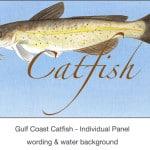 Casart_Gulf Coast Catfish water & wording_4x