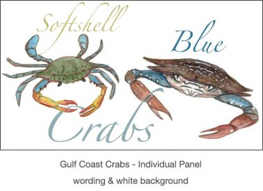 Casart_Gulf Coast Crabs white & wording_3x