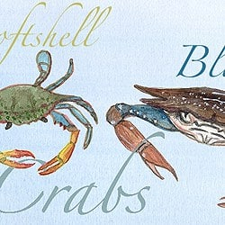 Casart Coverings_Element: Crabs no.12 – Gulf Coast Design