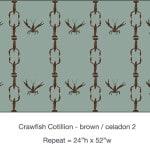 Casart_Crawfish-Cotillion Brown Celadon 2_11x