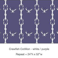 Casart_Crawfish-Cotillion White Purple 2_17x