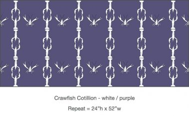 Casart_Crawfish-Cotillion White Purple 2_17x