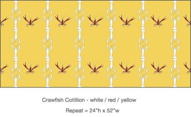 Casart_Crawfish-Cotillion White Red Yellow 2_24x