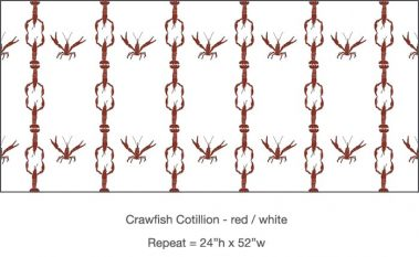 Casart_Crawfish-Cotillion Red White 2_26x