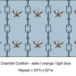 Casart_Crawfish-Cotillion Slate Orange Light Blue 2_3x