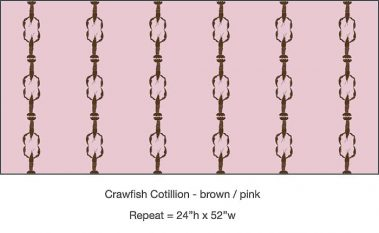 Casart_Crawfish-Cotillion Brown Pink_4x