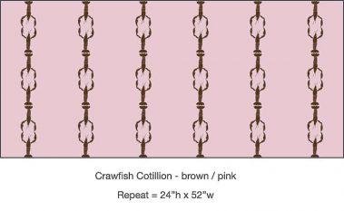 Casart_Crawfish-Cotillion Brown Pink_4x