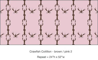 Casart_Crawfish-Cotillion Brown Pink 2_5x