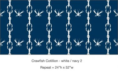 Casart_Crawfish-Cotillion White Navy 2_7x