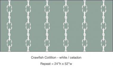 Casart_Crawfish-Cotillion White Celadon_8x